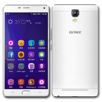 Gionee M5 plus 6吋八核心全網通華美智慧型手機(銀)
