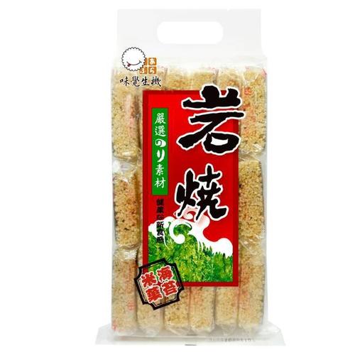 《味覺生機》岩燒海苔米果(270g/包)