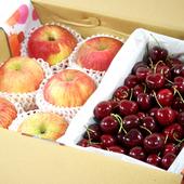 《鮮果日誌》夏季王牌禮盒組(智利蘋果6入+美加櫻桃2.5台斤)