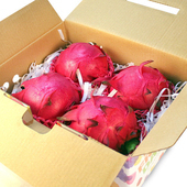 《鮮果日誌》紅肉 紅龍果/火龍果(4入禮盒裝)