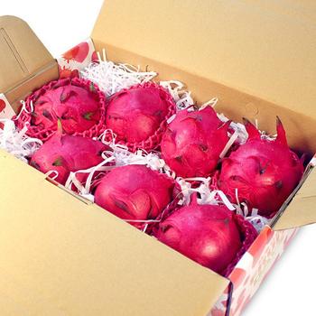 《鮮果日誌》紅肉 紅龍果/火龍果(7入禮盒裝)