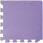 柔彩地墊附邊條8入- 紫色(32x32x1cm)