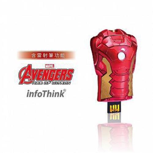 InfoThink 復仇者聯盟2胸甲隨身碟8GB(8GB)