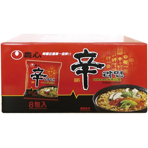 《農心》辛拉麵禮盒(120g*8包/盒)
