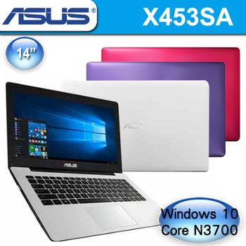 ASUS 華碩 X453SA 14吋 Pentium N3700四核心 500G硬碟 超值文書機(個性紫)