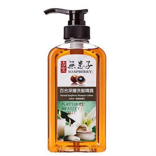 古寶 無患子百合深層洗髮精露450g(450g/瓶)