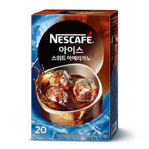 雀巢 咖啡美式冰咖啡20入(20x6.4g)