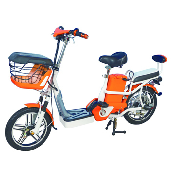 勝一 EV-16S電動輔助自行車(鋰電版)(橘色)