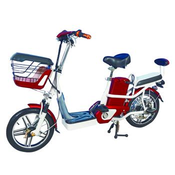勝一 EV-16S電動輔助自行車(鋰電版)(紅色)