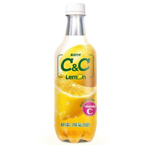 黑松汽水 C&C氣泡飲(檸檬口味)(500ml*4/瓶)