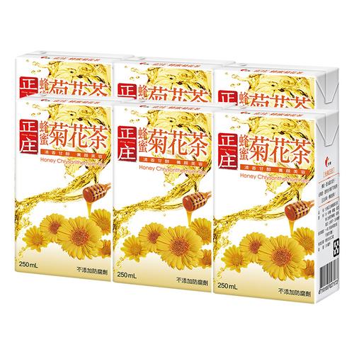 《光泉》正庄蜂蜜菊花茶(250ml*6包/組)