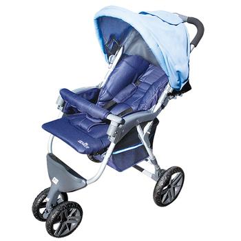 ★結帳現折★優生 ELSKER歐風三輪式嬰兒推車689(藍)