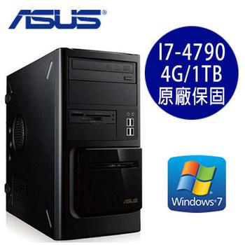 ASUS華碩 MD570 Intel I7-4790四核 4G/1TB WIN7 Pro桌上型電腦 (MD570-i7-4790)