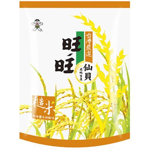 旺旺仙貝 嚴選糙米-輕海鹽佐胡椒(84g)