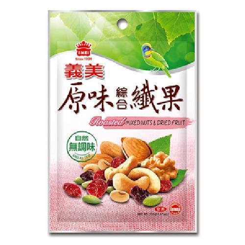 義美 原味綜合纖果(155g/包)