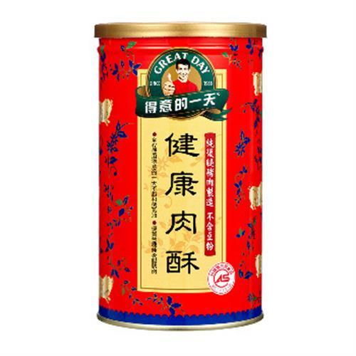 得意的一天 健康肉酥(200g/罐)