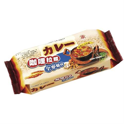 承昌 咖哩拉麵全麥麵條(420公克 (4片裝))