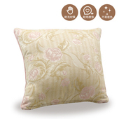 《巴芙洛》粉色玫瑰抱枕50X50cm