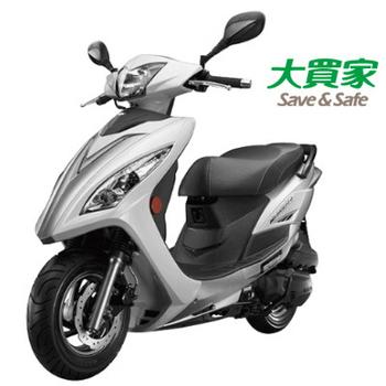 KYMCO 光陽機車 紳士X-SENSE 125 4V 2016全新車(白/銀)