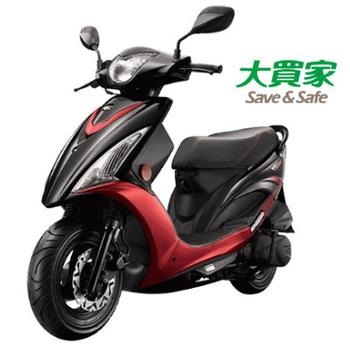 KYMCO 光陽機車 西堤 X-City 碟煞 2016全新車(黑/紅)