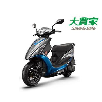 KYMCO 光陽機車 西堤 X-City 125 鼓煞 2017 全新車(灰/藍)