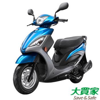光陽機車KYMCO NEW CUE 125 鼓 2017全新車(藍/銀)