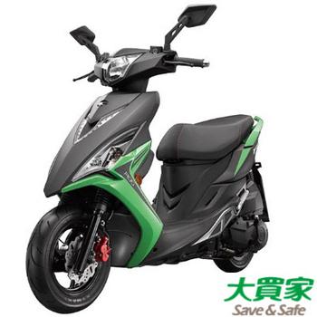 KYMCO 光陽機車 VJR 125 ABS版 - 2017 全新車(平光黑/綠)