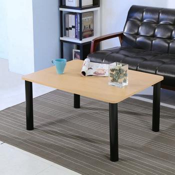 BuyJM 簡約日式造型茶几桌/和室桌(80*60公分)(原木色)