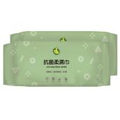 《RT》潔膚柔濕巾-綠茶抗菌(2入*80張)
