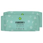 《RT》護膚柔濕巾-抗菌(2入*80張)