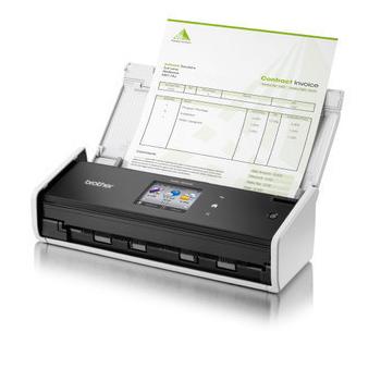 《兄弟》【原廠保固】brother ADS-1600W 高效智慧掃描(6.8cm彩色觸控螢幕) (另有ADS-1100W/ADS-