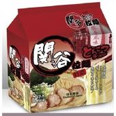 《關谷》特濃豚骨風味拉麵(91g*5包/袋)