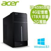 《ACER宏碁》【出清品】ATC-605效能 Intel I5-4590四核/2G獨顯/4G/1TB/Win8.1大容量電腦