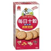 《義美》每日十穀養生餅-燕麥芝麻(285g/盒)