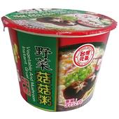 《臺旺》野菜菇菇粥(37g/碗)