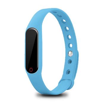 MTK 觸控OLED藍牙心率手環(mi2s)(藍色)