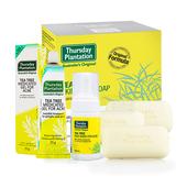 《澳洲星期四農莊》茶樹潔顏慕斯+茶樹凝膠+茶樹純淨皂x3超值優惠組