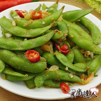 食尚達人 香辣毛豆(200g/包X6)