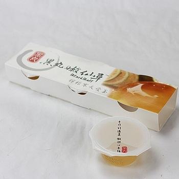 黑丸 檸檬寒天嫩愛玉mini杯(390g)