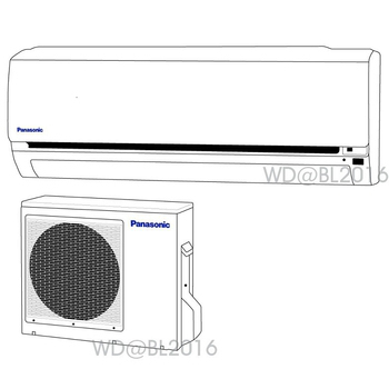 Panasonic 國際牌 3-4坪定頻一對一分離式冷氣 (CS-G20C2/CU-G20C2) ★含標準安裝+舊機回收