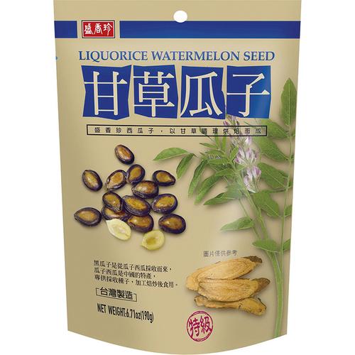 盛香珍 甘草瓜子(190g/包)