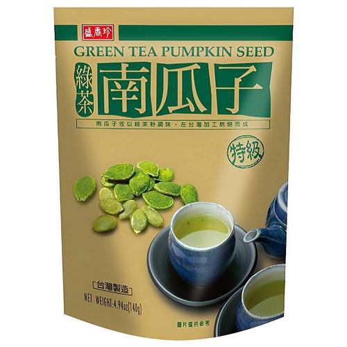 盛香珍 綠茶南瓜子(140g/包)