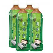 《波蜜》靠茶四季青茶(580ml*4瓶)