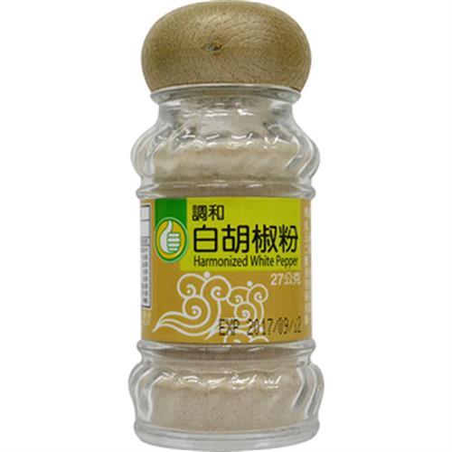 FP 調和白胡椒粉(27g)