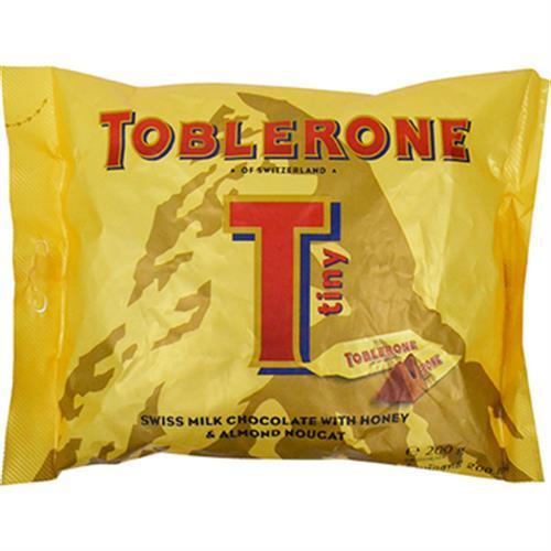 《TOBLERONE》瑞士三角迷你巧克力(200g/袋)