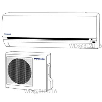 Panasonic 國際牌 8-9坪變頻一對一分離式冷暖空調 (CS-LX50A2/CU-LX50HA2) ★含標準安裝+舊機回收