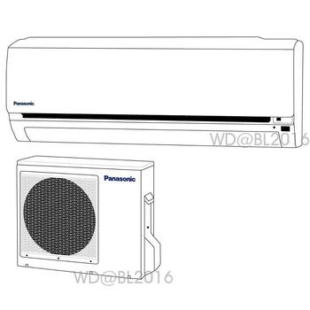 Panasonic 國際牌 15-16坪變頻一對一分離式冷暖空調 (CS-LX90A2/CU-LX90HA2) ★含標準安裝+舊機回收