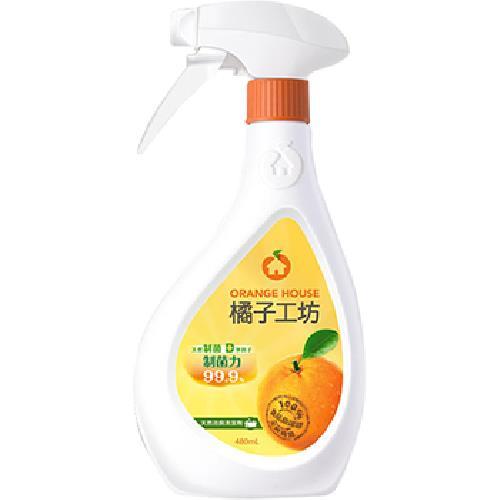 橘子工坊 天然制菌浴廁清潔劑(480ML)