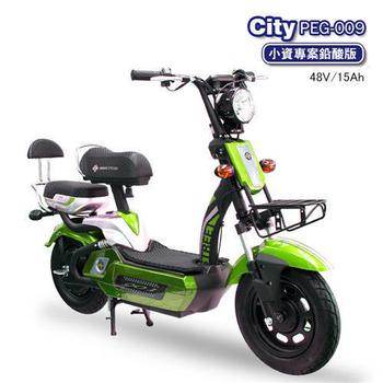 向銓環保電動車 City 電動自行車 PEG-009 (鉛酸版15A)(格林綠)