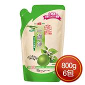 《楓康》一滴淨食品用洗碗精補充包(檸檬 (800g)*6包)